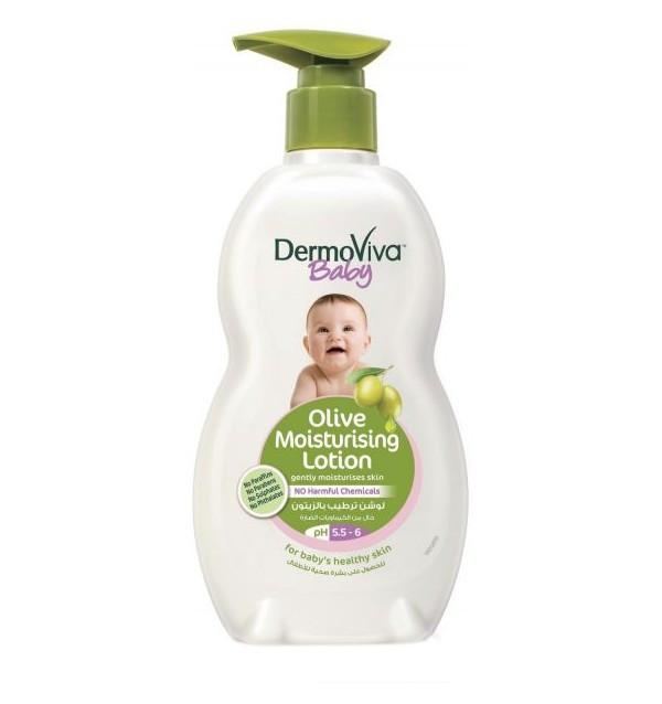 Детский лосьон для тела с экстрактом оливы DermoViva