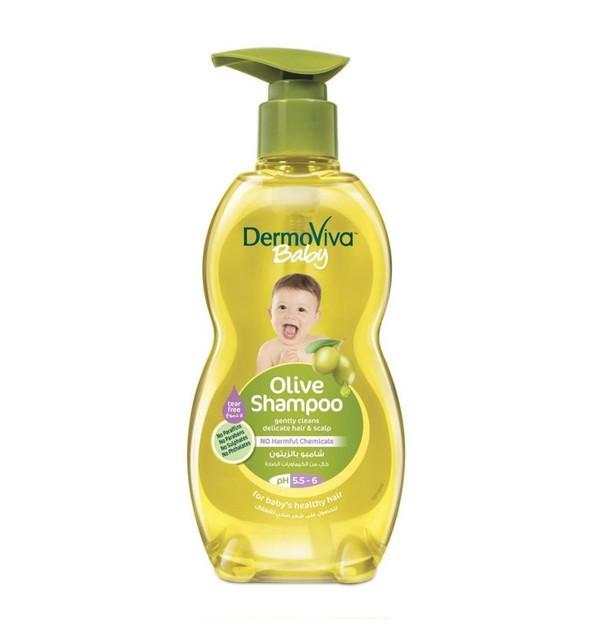 Детский шампунь с экстрактом оливы DermoViva (500 мл)