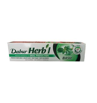 Зубная паста Dabur Herb'l Basil, фото 2