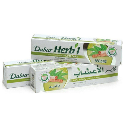 Зубная паста Dabur Herbal Neem, фото 2