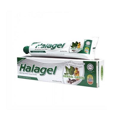 Зубная паста Halagel Herbal Green (100 г), фото 2
