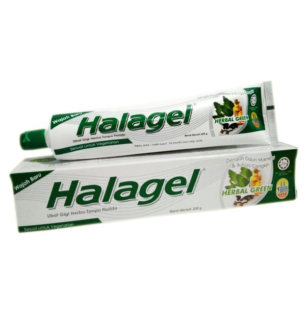 Зубная паста Halagel Herbal Green (200 г)