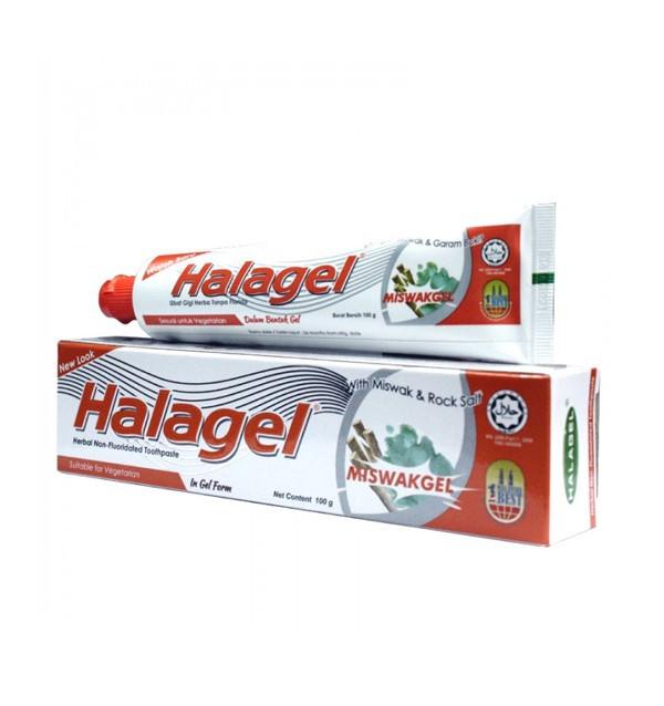 Зубная паста Halagel Miswak Rock Salt (100 г)