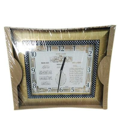 Квадратные часы с аятами из Корана, фото 2