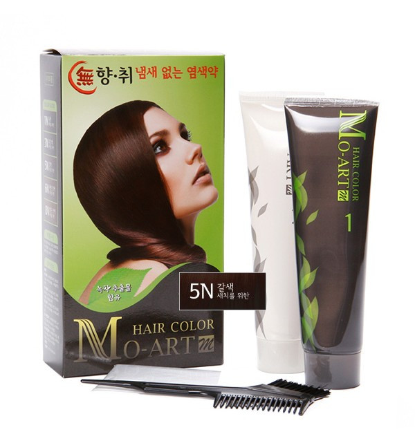 Краска для волос Mo-Art 5N Hair Color (300 мл)