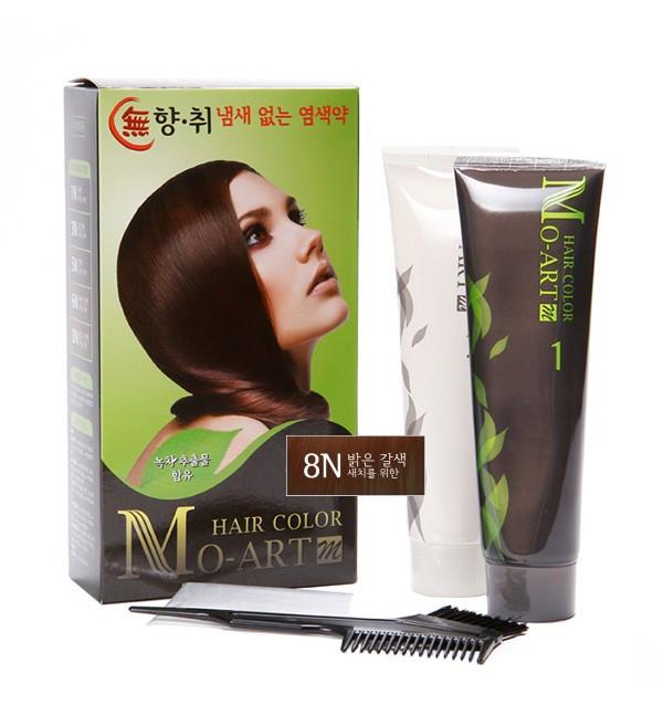 Краска для волос Mo-Art 8N Hair Color (300 мл)
