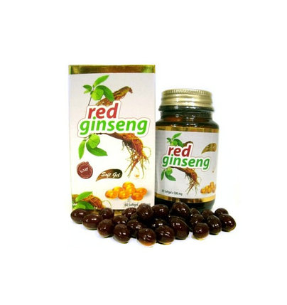 Красный женьшень Sah? Sifa Red Ginseng Soft Gel (60 г), фото 2
