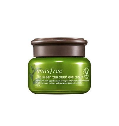 Крем для кожи вокруг глаз с зеленым чаем Innisfree The Green Tea Seed Eye Cream (30 мл), фото 2
