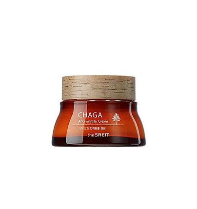 Крем для лица от морщин с экстрактом древесного гриба чага The Saem Chaga Anti-Wrinkle Cream (60 мл), фото 2
