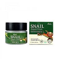 Крем для лица против морщин с улиткой Ekel Snail Ampule Cream (70 мл)