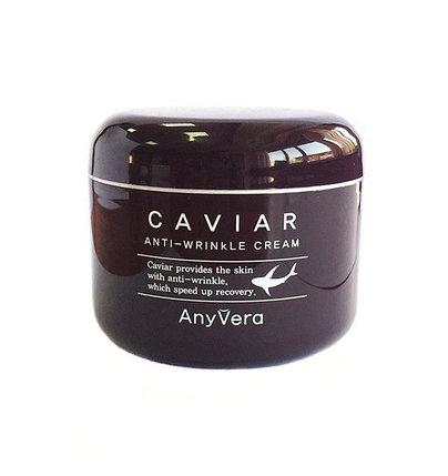 Крем для лица с икрой против морщин Any Vera Caviar Anti-Wrinkle Cream (100 мл), фото 2