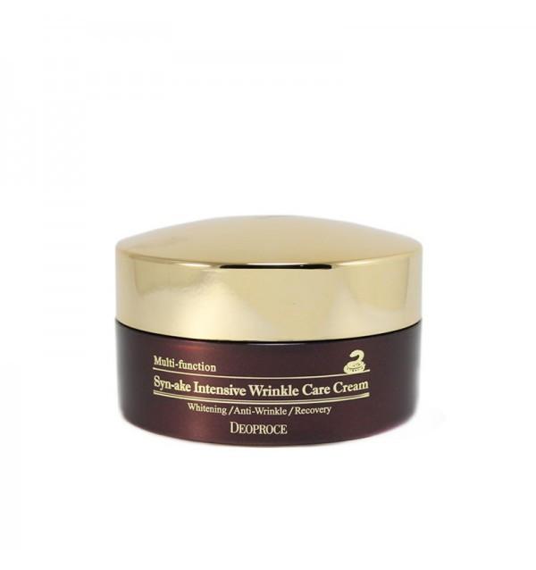 Крем для лица со змеиным ядом Deoproce Multi-Function Syn-ake Intensive Wrinkle Care Cream (100 гр)
