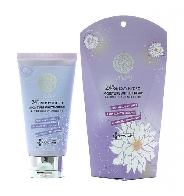 Крем для лица, рук, ног и тела Skinfactory 24Hr Oneday Hydro Moisture White Cream (100 г)