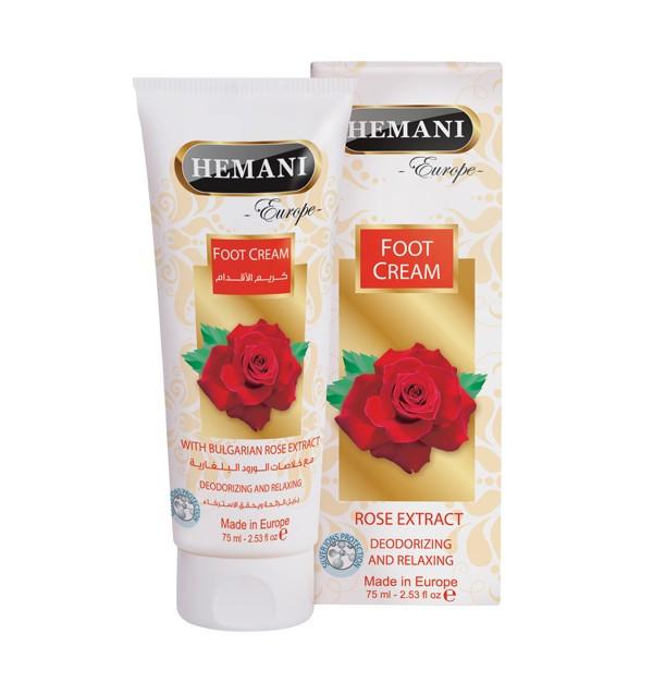 Крем для ног Hemani Rose