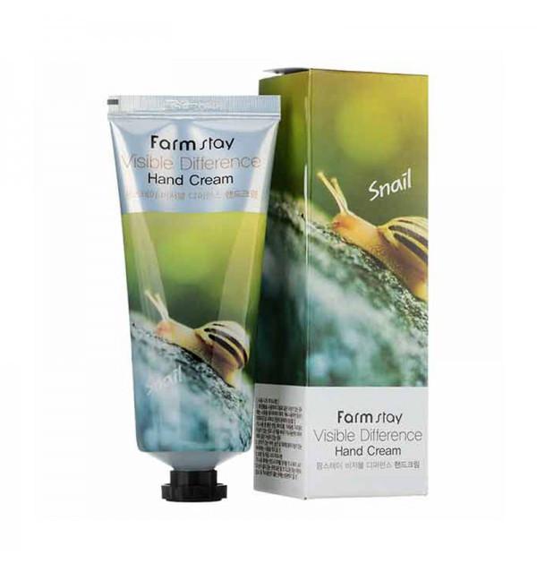 Крем для рук с натуральным экстрактом улитки Farm Stay (100 гр)