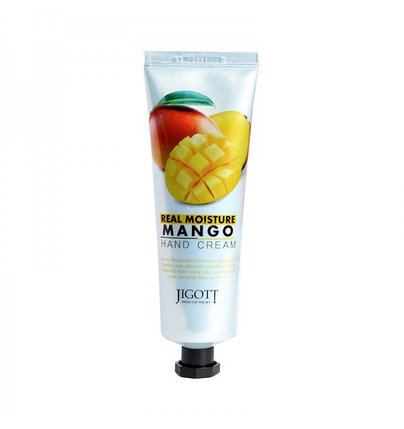 Крем для рук с экстрактом манго Jigott Real Moisture Mango Hand Cream (100 мл), фото 2