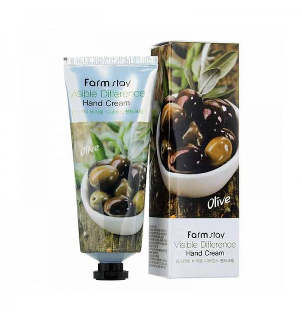 Крем для рук с экстрактом оливы Farm Stay (100 гр)