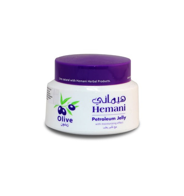 Крем для тела Hemani Herbal Petroleum Jelly с экстрактом оливы