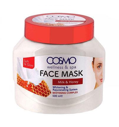 Крем-маска с молоком и медом Cosmo Milk and Honey Face Mask (500 мл), фото 2