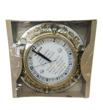 Круглые часы с арабской вязью, фото 2