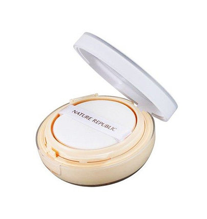 Кушон бежевый Nature Republic Provence Intensive Ampoule Cushion SPF50+/PA+++ Natural Beige (15 г), фото 2