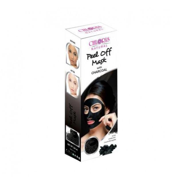 Маска-пленка для лица с древесным углем Peel Off Mask