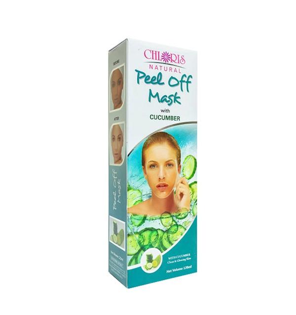 Маска-пленка для лица с экстрактом огурца Peel Off Mask