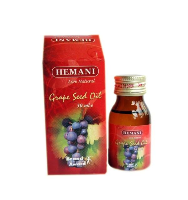 Масло виноградных косточек Hemani (30 мл)