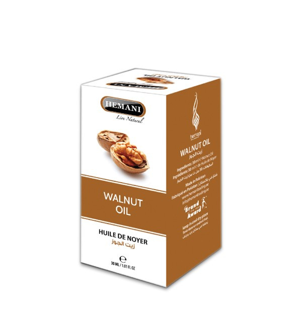 Масло грецкого ореха Hemani (30 мл)