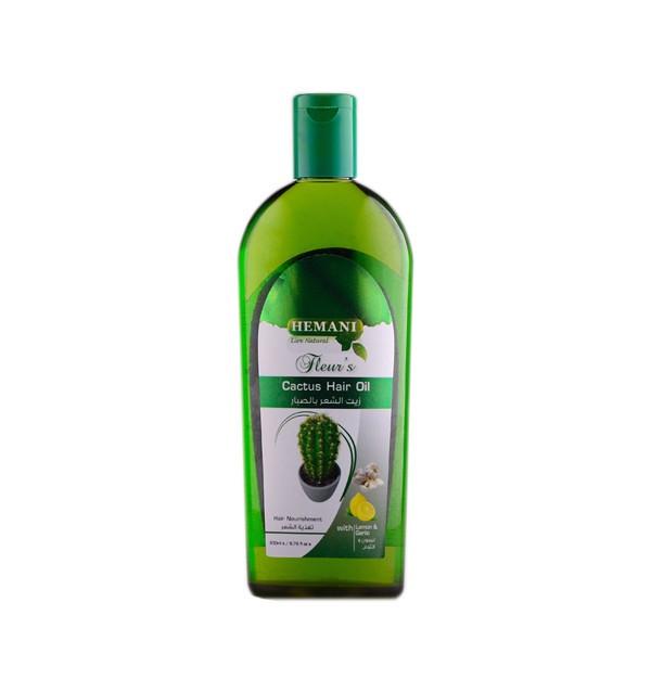Масло кактуса для волос Hemani Fleur's