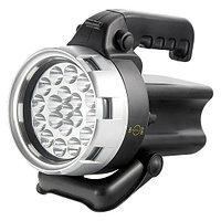 Фонарь поисковый, аккумуляторный, 19 LED// Stern