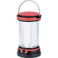 Фонарь кемпинговый, светодиодный, 4 режима свечения, ABS, PS пластик, 6 LED, 3хАА// Stern