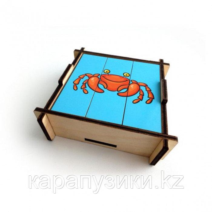 Развивающие игрушки морской мир разрезные картинки