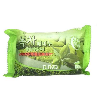 Мыло для лица с экстрактом зеленого чая Juno (150) гр, фото 2