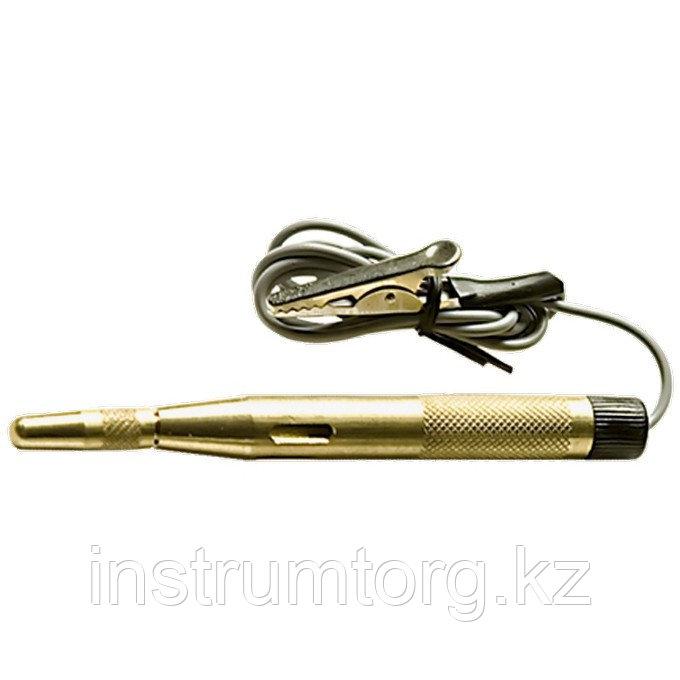 Пробник автомобильный 6-24 В, 110 мм, металлический корпус// Sparta