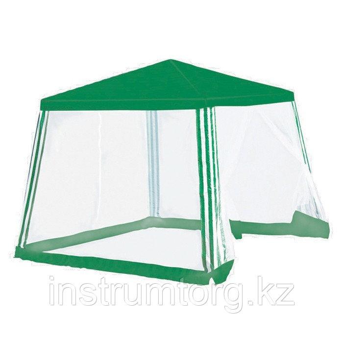 Тент садовый с москитной сеткой, 2,5х2,5/2,4 Camping// Palisad