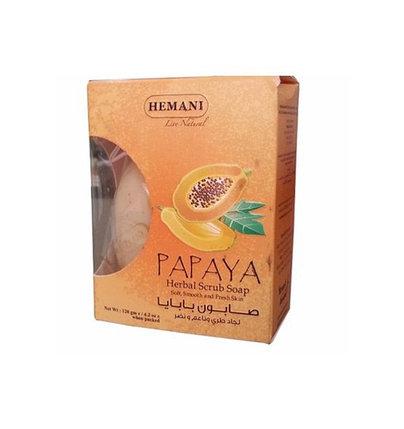 Мыло-скраб Hemani Papaya, фото 2