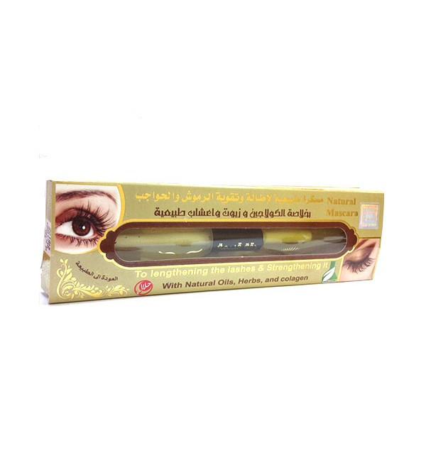 Натуральная тушь для роста ресниц и бровей Dakka Kadima