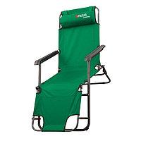 Кресло-шезлонг двухпозиционное 156х60х82cm Camping// Palisad