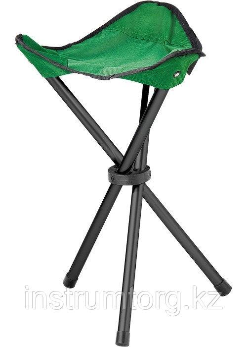 Стул складной на 3-х ножках 32х32х44 см Camping// Palisad