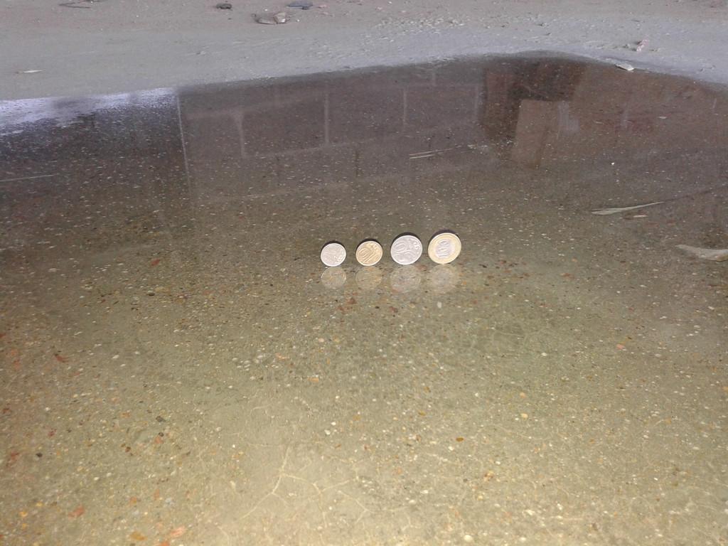 Полированный бетон  эффект зеркала