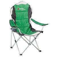 Кресло складное с подлокотниками и подстаканником 60/60/110/92 Camping// Palisad