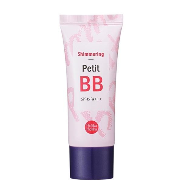 Осветляющий ББ крем для лица Holika Holika Shimmering Petit BB Cream SPF45/PA+++ (30 мл)
