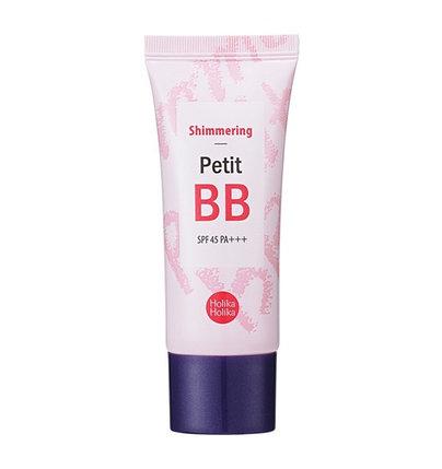 Осветляющий ББ крем для лица Holika Holika Shimmering Petit BB Cream SPF45/PA+++ (30 мл), фото 2