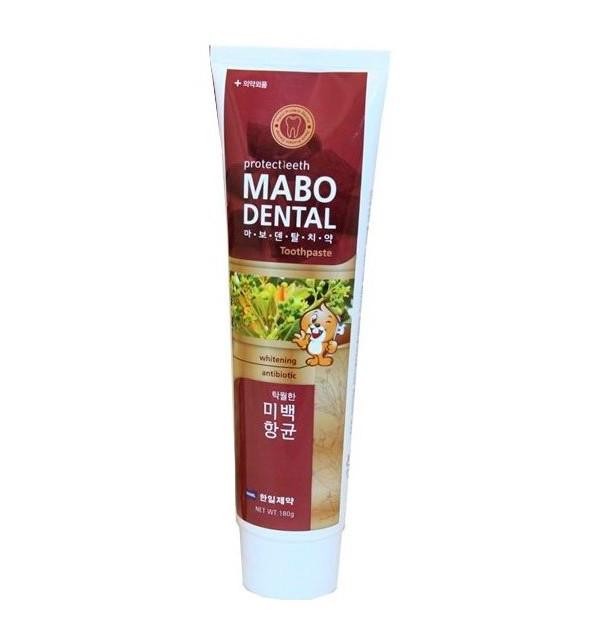 Отбеливающая зубная паста Hanil Mabo Dental Toothpaste (180 г)