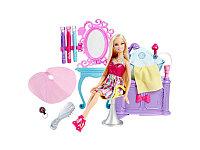 Кукла Барби Модная прическа Салон парикмахерская Barbie Hairtastic
