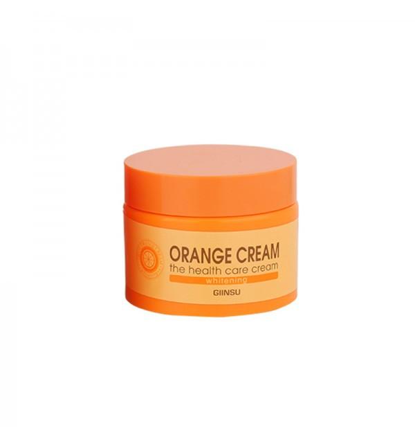 Отбеливающий крем для лица с апельсином Giinsu Whitening Orange Cream (50 г)