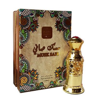 Парфюмерное масло с белым мускусом Musk Safi Naseem Perfume (6 мл), фото 2