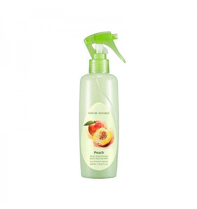 Персиковый пилинг-мист для тела Nature Republic Peach Skin Smoothing Body Peeling Mist (250 мл), фото 2