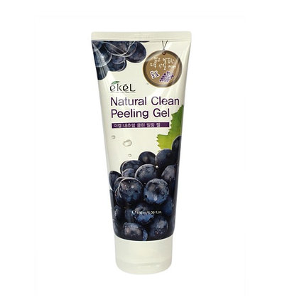 Пилинг-скатка с экстрактом черного винограда Ekel Grape Natural Clean Peeling Gel (180 мл), фото 2